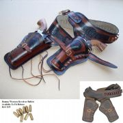 Double Draw Leather Holster